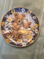 Teddy'S Easter Treat Franklin Mint Limited Edition Plate Sarah Bengry