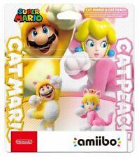Nintendo 33853875 Cat Mario and Peach Amiibo Character Figure