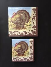 Spode WOODLAND Turkey Paper Lunch/Dinner Beverage Napkins 40 count total 3 ply