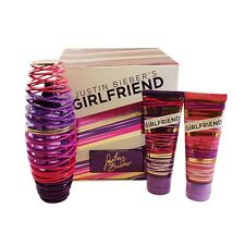Girlfriend Perfume for Women By Justin Bieber 3 Pc. Gift Set