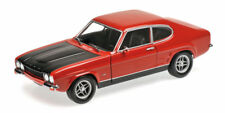 Ford Capri Rs 2600 1970 Red & Black Minichamps 1:18 150089076
