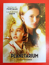 Lily-Rose Melody Depp Natalie Portman - Planetarium - Polish promo FLYER