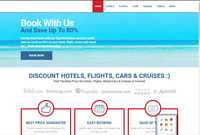 Superior Turnkey Travel Booking Website Free Installation+Free cPanel Hosting