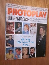 1967 PHOTOPLAY November issue JFK James Dean Marilyn Monroe Movie MAGAZINE