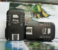 UK Seller! Pixel King Wireless i-TTL Flash Trigger for Nikon SB series flashes