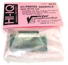Vintage Victor Engineering PC/ Printer Interface Serial RS-232 Port #VE-IQSP-1