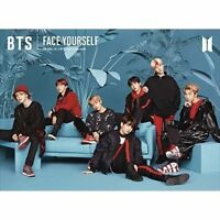 New BTS FACE YOURSELF First Limited Edition Type C CD Photobooklet Japan