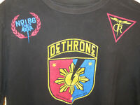 Nonito Donaire Dethrone Royalty T shirt Black Size XL