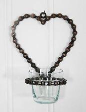 Handmade Heart Candle & Tea Light Holders