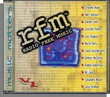 Radio Free Music Vol 1 (1997) - Great 90's Songs! New Various Artists CD!