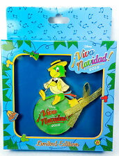 Disney Pin Viva Navidad! 2016 JUMBO Jose Three Caballeros Limited Edition 500