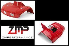 NEW HONDA TRX300 TRX 300 88 - 00 RED FRONT AND REAR FENDER SET PLASTIC PLASTICS