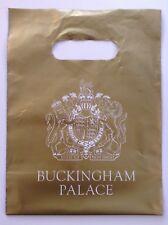 Palacio de Buckingham Bolsa Plástica de Regalo Souvenir De Oro 27 X 20.5 Cm Nuevo Coleccionable