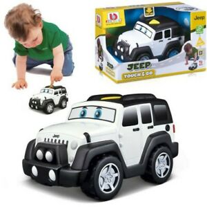 Jeep Touch & Go Childrens Toy for 12 Months+ Bburago Junior Motorized & Sounds
