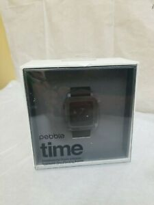 Pebble Time Smartwatch Activity Watch & Sleep Tracker