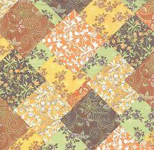 2 Serviettes en papier Décor Tissu Motif Automne Paper Napkins Autumn Pattern