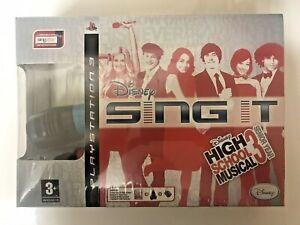 Disney Sing It: High School Musical 3: Senior Year PS3 PEGI 3 2 x Microphones