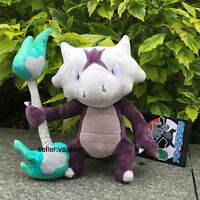 Pokemon Center Go Alola Marowak Garagara Plush Toy Cuddly Stuffed Animal Doll 8""