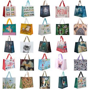 Shopping Bag Shopper Handles Tote Strong Premium Quality Reusable Eco-Friendly