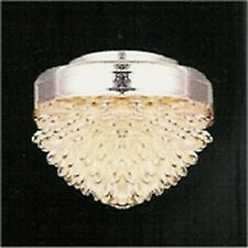 1:12 Scale Working Ceiling Light With A Crystal Effect Shade Dolls House 4009