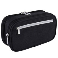 2X(Pencil Case, Large Capacity Pencil Cases Pen Bag Pouch Holder Travel Q5M4)