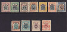 Straits Sett. Scott # 134A-144 VF OG mint hinged nice color cv $ 676 ! see pic !