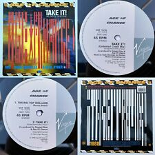 """AGE OF CHANCE - Take It 12"""" EX/EX 1988 Virgin (Hank Shocklee Mix)"""
