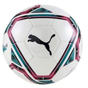 Puma TeamFINAL 21.6 MS Soccer Aid Football soccer Ball White - Size 5