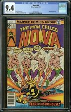NOVA #9 (1977) CGC 9.4 APPEARANCE of MEGAMAN NM