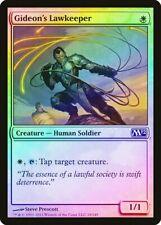 Gideon's Lawkeeper FOIL Magic 2012 / M12 PLD White Common MAGIC CARD ABUGames