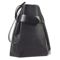 LOUIS VUITTON SAC DEPAULE GM SHOULDER BAG BLACK EPI LEATHER M80155 AK31733i