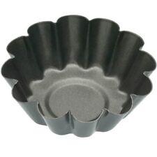 6cm Set Of 4 Non-stick Mini Fluted Flan Tart Tins - Nonstick Kitchen Craft Four