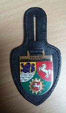 Brustanhänger Verbandsabzeichen  Polizei Königslutter / Niedersachsen Wappen