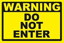 2 - DO NOT ENTER ...SIGNS - #PS-432