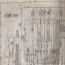 Williams Oxo Pinball Machine Schematic
