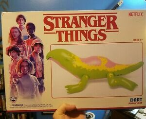 Stranger Things Dart Inflatable Pool Float Big Mouth Netflix fast shipping! NEW