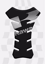 Protection pour Réservoir De Moto Kawasaki 3D Noir
