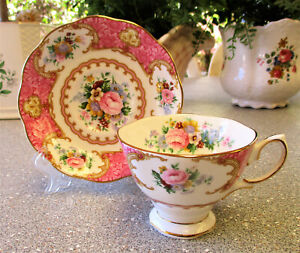 "Royal Albert  "" Lady Carlyle ""  Cup and Saucer   1st Quality   Excel Condition"
