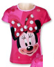 Girls Minnie Mouse T-shirt Disney Minnie Tops Age 3, 4, 5, 6, 7 & 8 Years