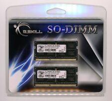 G.SKILL 8GB (2 x 4GB) DDR3 (PC3 10600) Laptop Memory Kit – Brand New!