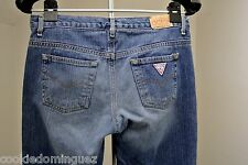 GUESS JEANS SIZE 28 LOW RISE STRAIGHT LEG JEANS ACTUAL 32 X 31.5*~Sale!