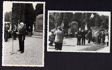 █ 2 photos SEPPOIS-LE-BAS Monument 1944 Groupe Mobile d'Alsace / 31e BCP ALSACE