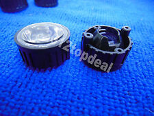 10pcs 90degree led Lens for 1W 3W High Power LED with screw 20mm Black holder