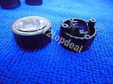 10pcs 90degree led Lens for 1W 3W High Power LED with screw 20mm Black holder