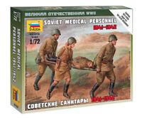 Zvezda 6152 Soviet Medical Personnel 1941-1942 Model Kit 1/72