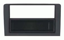 Mascherina con foro ISO-Doppio ISO- Doppio DIN colore nero Fiat Idea-Lancia Mus