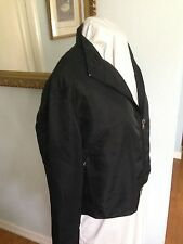 Ralph Lauren Sport Women's Black Windbreaker-Jacket-Outerwear