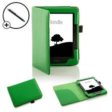 Forefront Cases Leather Green Smart Case Cover Amazon Kindle Voyage + Stylus Pen