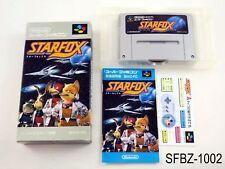 Complete Starfox Super Famicom Japanese Import JP SFC Star Fox Japan US Seller B