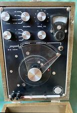 Pyrotest Model 9 B Vintage Laboratory Test Equipment Steampunk Decor Electronic